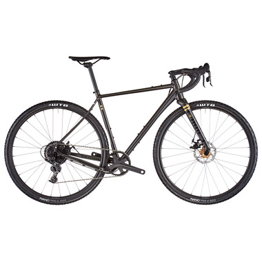 Vélo de Gravel RONDO RUUT AL 2 Sram Apex 1 42 Dents Noir 2021